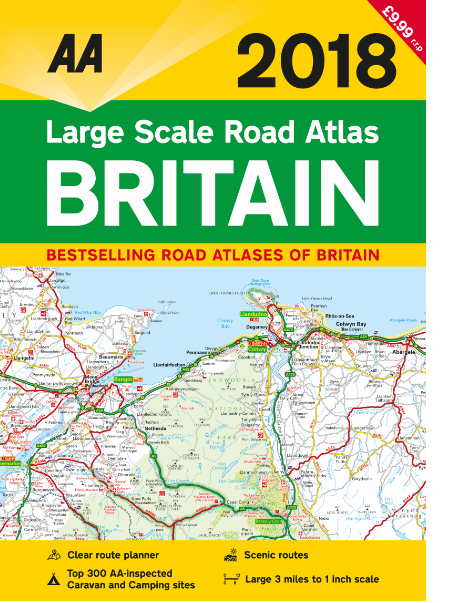 free bumper aa road atlas worth 999